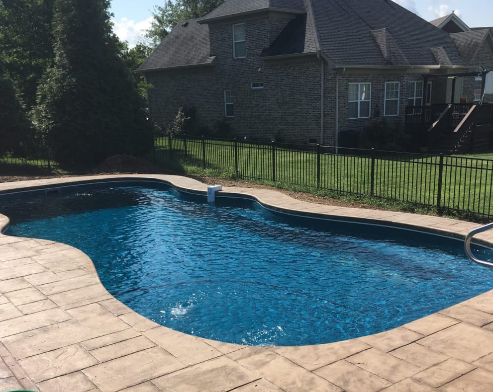 Pool Builder Contractor Nashville Tn Care Free Pools